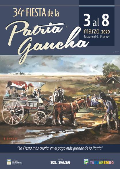 34a Fiesta de la Patria Gaucha 2020