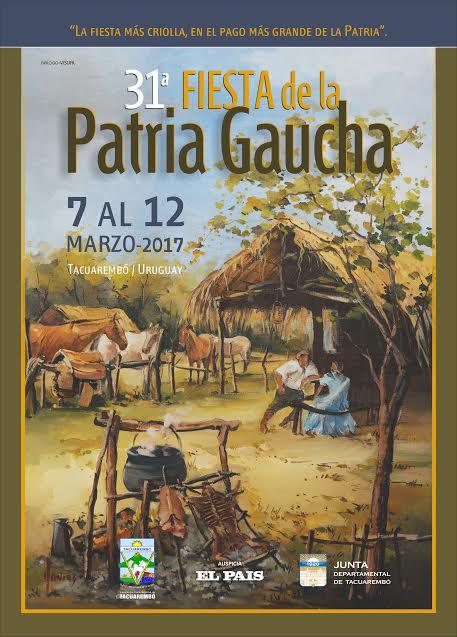 Resultado de imagem para festa gaucha em tacuarembó 2017